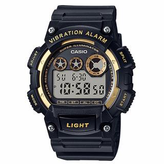 Relogio Casio W-735h-1a2/8 Alarm Vibra Crono Luz W735 Caixa