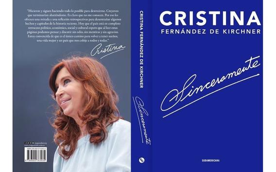 Libro Sinceramente - Cristina Fernandez Kirchner Hay Stock!!