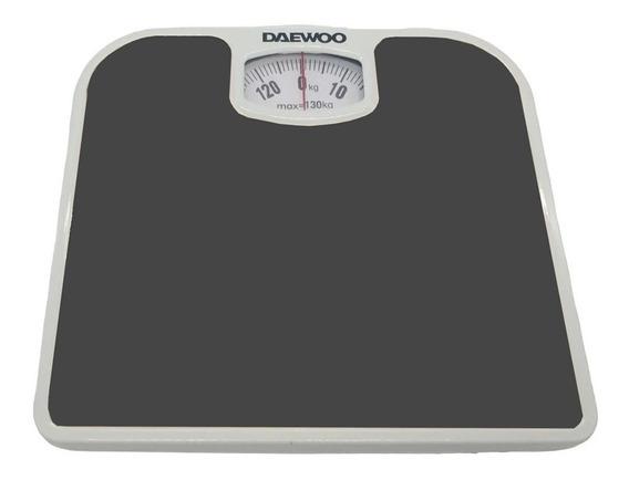 Balanza Mecánica Baño Antideslizante 130kg Daewoo Dbs-102