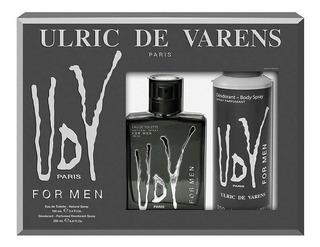 Udv Hombre Ulric De Varens Perfume Set 100ml Envio Gratis!!