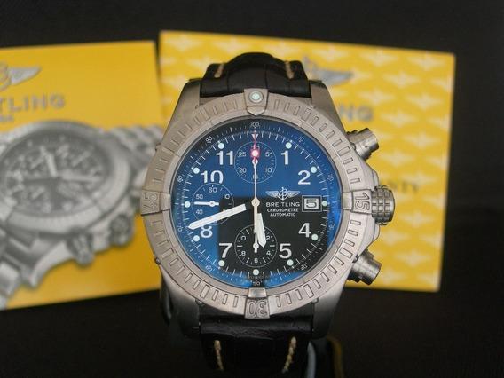 Relógio Breitling Chrono Avenger Titanium Original Automátic