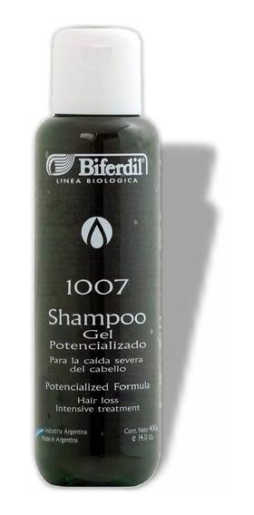 Shampoo Caida Severa Cabello Biferdil 1007 Potenciado 400ml