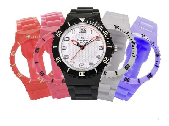 Relógio Unissex Champion Troca Pulseiras Cp38086x / 55053