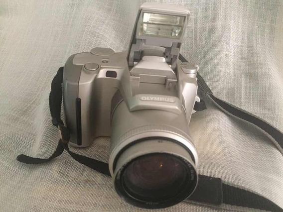 Camera Fotográfica -olympus Is-5 De Luxo /28-140 Pouco Uso -