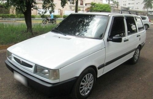 Fiat Elba 1989 Motor 1.3 Faz 15 Km Litro Pneus Novos Raridad