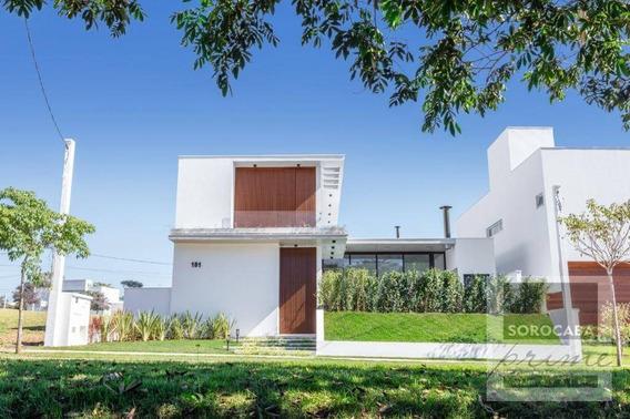 Sobrado Com 3 Dormitórios À Venda, 321 M² Por R$ 1.900.000 - Condomínio Residencial Giverny - Sorocaba/sp, Próximo Ao Shopping Iguatemi. - So0103