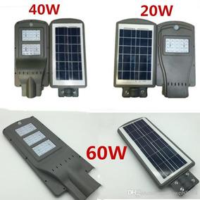 Lamparas Led Con Panel Solar