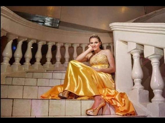Vestido De 15 Amarillo