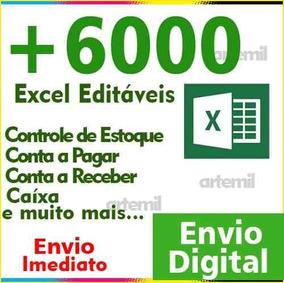 +6000 Planilhas Editaveis