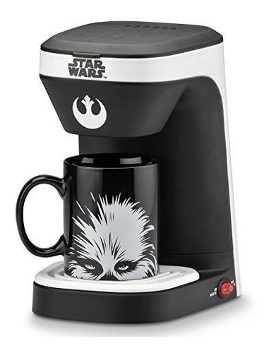 Cafetera De 1 Taza De Star Wars Con Taza Chewbacca