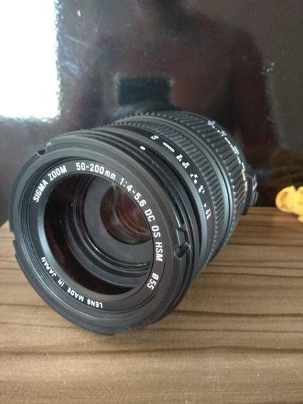 Sigma :lente Sigma 50 200 Mm