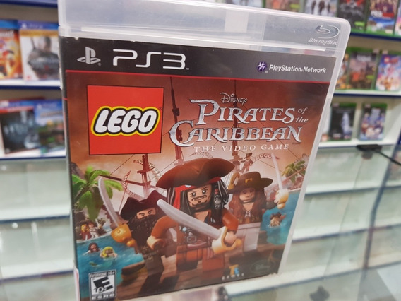 Lego Pirates Of Caribbean Usado Original Ps3 Mídia Física