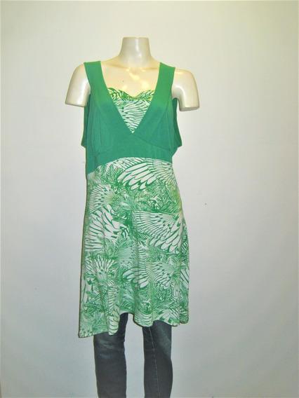 Vestido De Lycra Estampado Talles Grandes Y Especiales