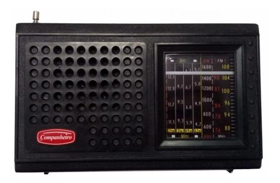 Rádio Portátil Brasileirinho 7fxs Fm Am Oc Companheiro Crp37