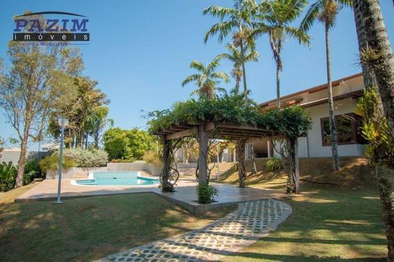 Casa Com 4 Dormitórios À Venda, 773 M² Por R$ 3.300.000,00 - Condomínio Monte Carlo - Valinhos/sp - Ca4445