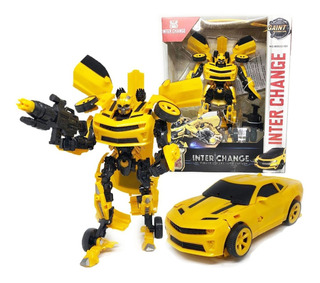 Muneco Bumblebe Simil Transformers Auto New Cod 151a Bigshop