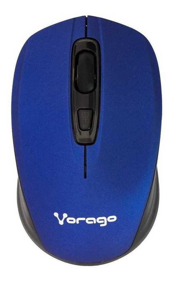 Mouse Vorago 305 azul y negro