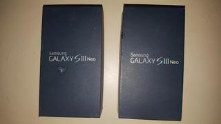Caja Samsung S3 Neo 16gb Sin Accesorios