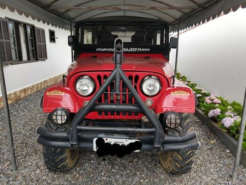 Jeep Willys Bernardão 4 Portas