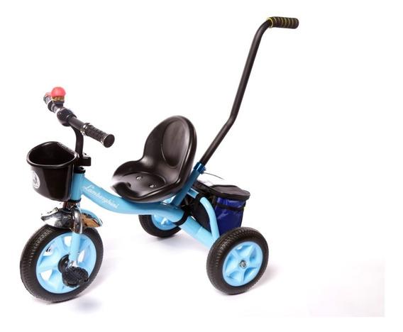 Triciclo Infantil Con Caño Reforzado Lamborghini 7068