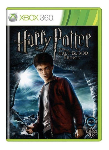 Harry Potter And The Halfblood Prince Xbox 360 Mídia Física