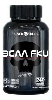 Bcaa Fku (240 Tabs) - Black Skull - 1300mg Por Tablete