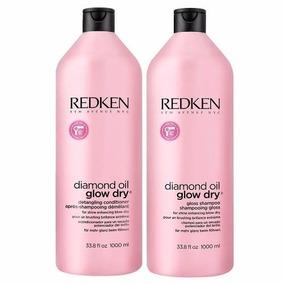Redken Diamond Oil Glow Dry Kit Sh 1000m + Cond 1000ml