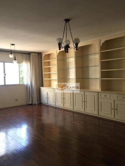 Apartamento Com 3 Dormitórios À Venda, 145 M² Por R$ 650.000,00 - Centro - Campinas/sp - Ap5265