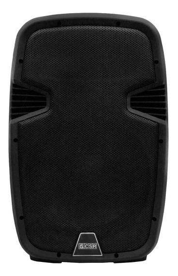 Caixa Bi Amplificada 10 100w Csr 5510 Bluetooth