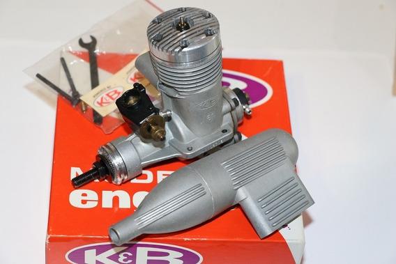 Motor Glow K & B .61 R/c C/ Perry Pump & Carburetor - N I B
