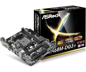 Kit Placa Mãe Fm2a68m-dg3+ Fm2+ Processador A6 7480 3.5ghz