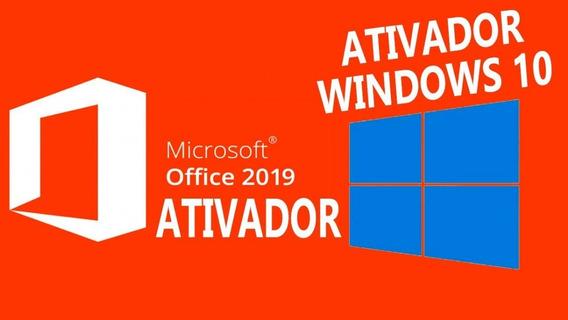 Windows 10 + Ativador - Office 2019 + Ativador + Brinde