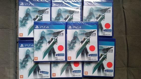 Jogo Final Fantasy Vii 7 Remake Ps4 Novo M Física Português
