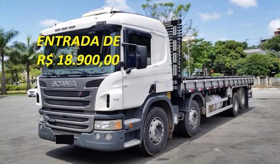 Scania P 310 Bitruck Ano 2015 Carroceria De Madeira