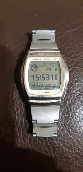 Relógio Casio Vintage Bzx-100 - Touch Screen - Ultra Raro