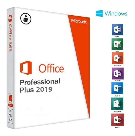 Ms Office Pro 2019 Key Original - Entrega Imediata