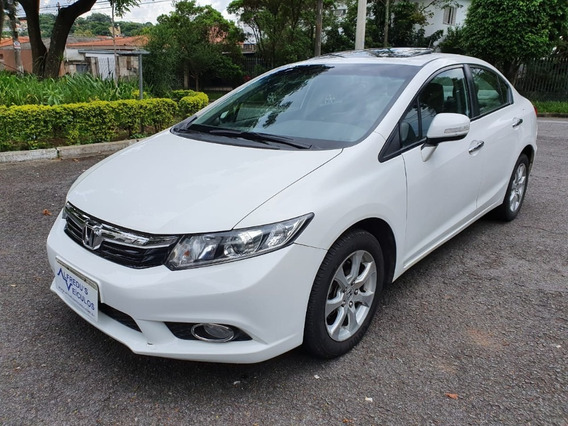 Honda Civic Exr 2.0 Automático C/teto Solar 46.000 Km 2014