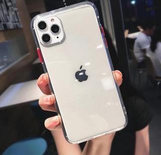 Capa Capinha iPhone Transparente 8 Plus Xs Xr 10 11 Pro
