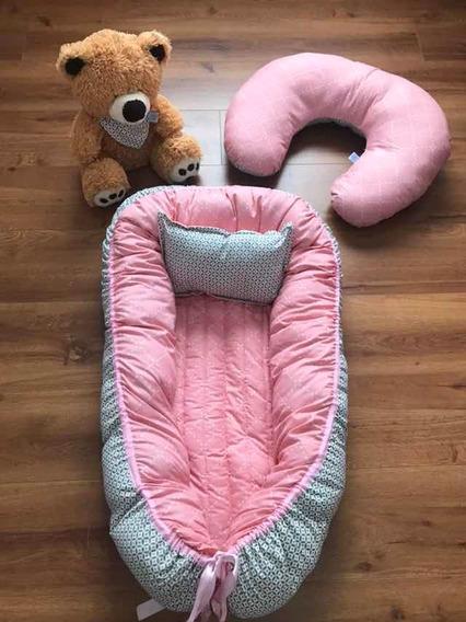 Nido De Bebé Con Almohada De Lactancia Y Babero