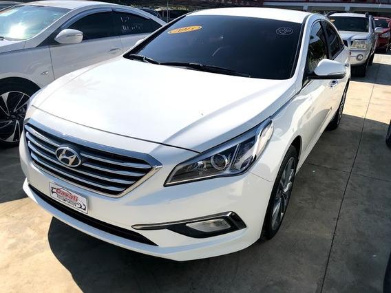 Hyundai Sonata Lpi Blanco 2015