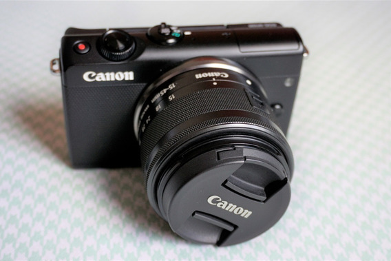 Canon Eos M100 Com Lente 15-45mm