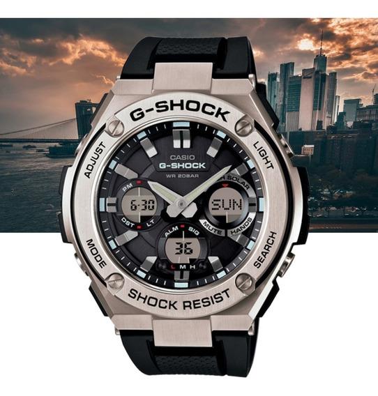Relógio Casio G-shock Masculino G-steel Gst-s110-1adr Prata