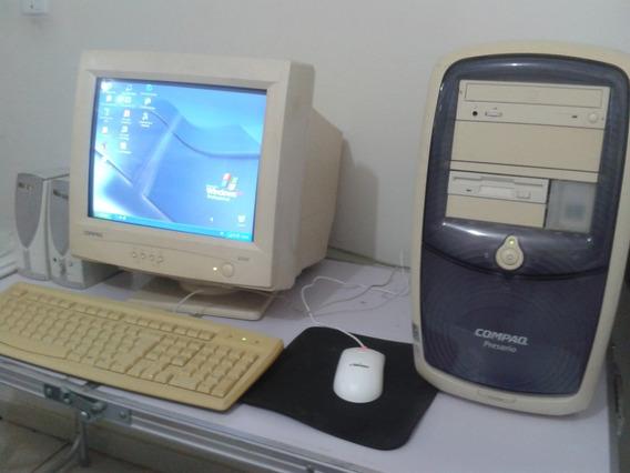 Computador Compaq Presário Intel Pentium Iii 850 Mhz # Lindo