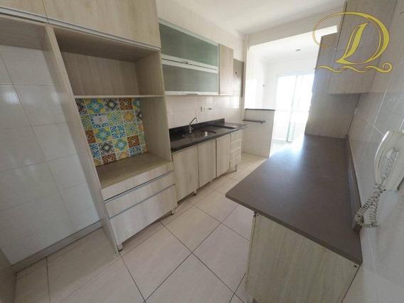 Lindo Apartamento 02 Suítes No Boqueirão, Praia Grande, Com 02 Vagas E Varanda Gourmet - Ap3266