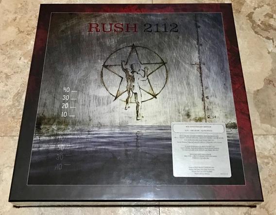 Rush 2112 40th Anniversary Super Deluxe Edition 3lp 2cd Dvd