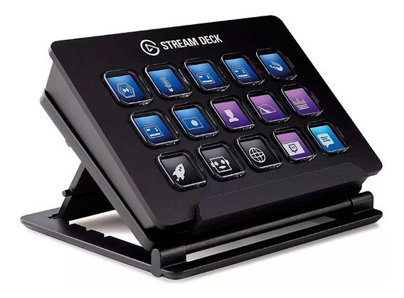 Teclado Stream Deck 15 Teclas Lcd Personalizable Elgato