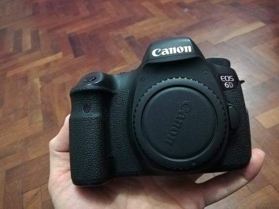 Cámara Canon 6d (body)