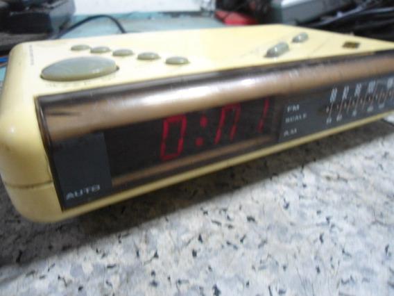 Rádio Relógio Cce Dle-650 - Para Peças Ou Reparo