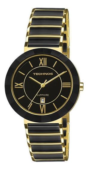 Relógio Technos Elegance Ceramic/sapphire 2015ce/4p