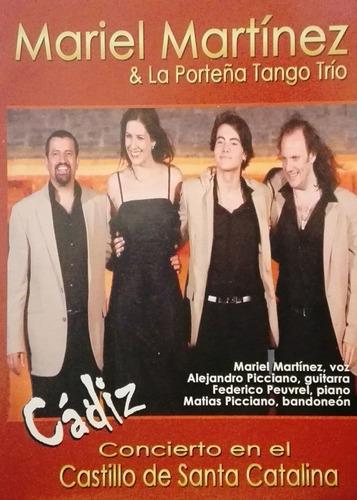 Mariel Martinez & La Porteña Tango Trío - Cádiz - Dvd